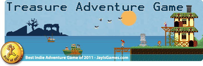 Treasure Adventure Game Logo